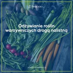 Odżywianie roślin warzywniczych drogą nalistną