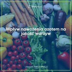 Wpływ nawożenia azotem na jakość warzyw