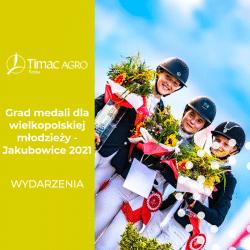 Grad medali dla wielkopolskiej młodzieży - Jakubowice 2021